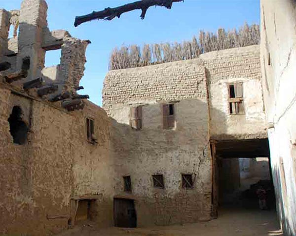 Houses in Kharga Oases